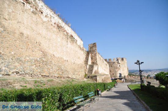 De Byzantijnse muren in Thessaloniki